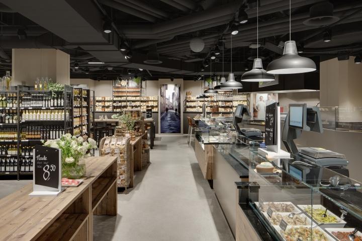 Jelmoli department store by schweitzer group zurich for Seafood bar zurich