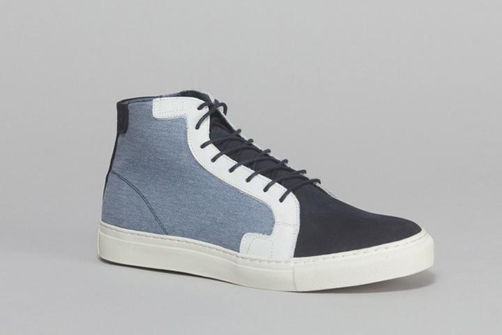 dea0aff46432 Light Blue Jean Sneakers by Piola