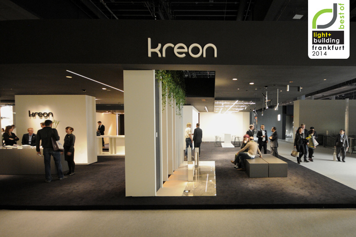 Exhibition Stand Design Italy : Light building frankfurt kreon
