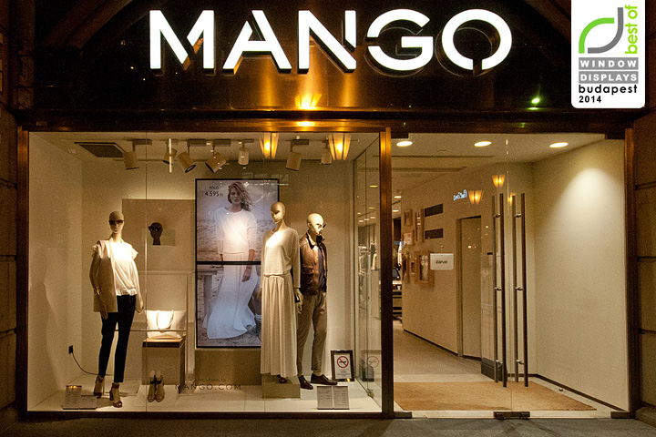 Mango Windows 2014 Spring Budapest Retail Design Blog