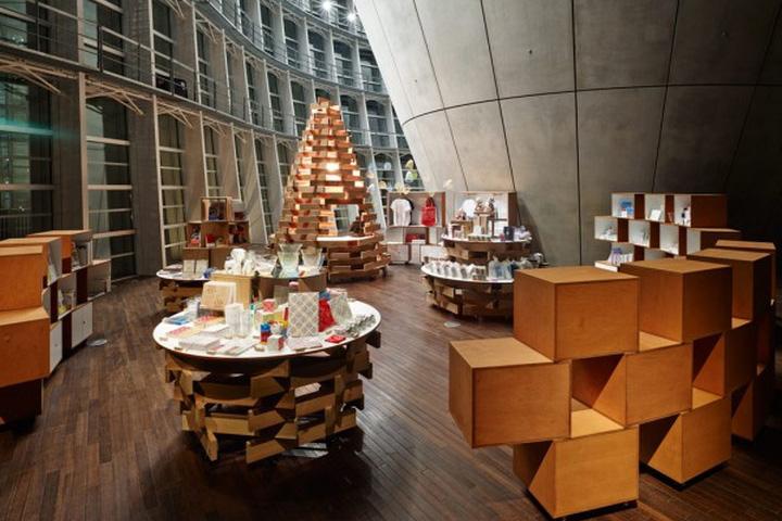 Museum Shop At National Art Center By Torafu Architects Tokyo Retail Desig