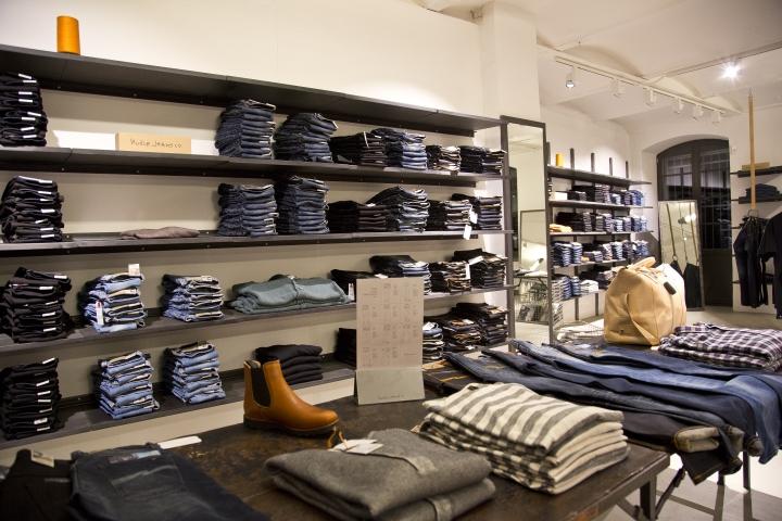 nudie jeans repair shop berlin germany retail design blog. Black Bedroom Furniture Sets. Home Design Ideas