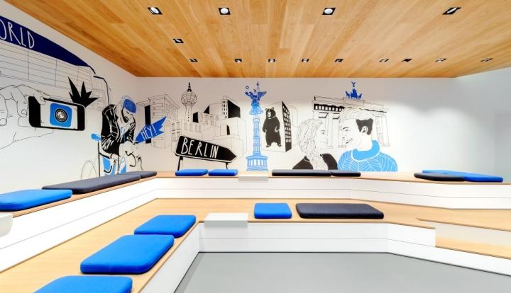 o2 live concept store by hartmannvonsiebenthal berlin. Black Bedroom Furniture Sets. Home Design Ideas