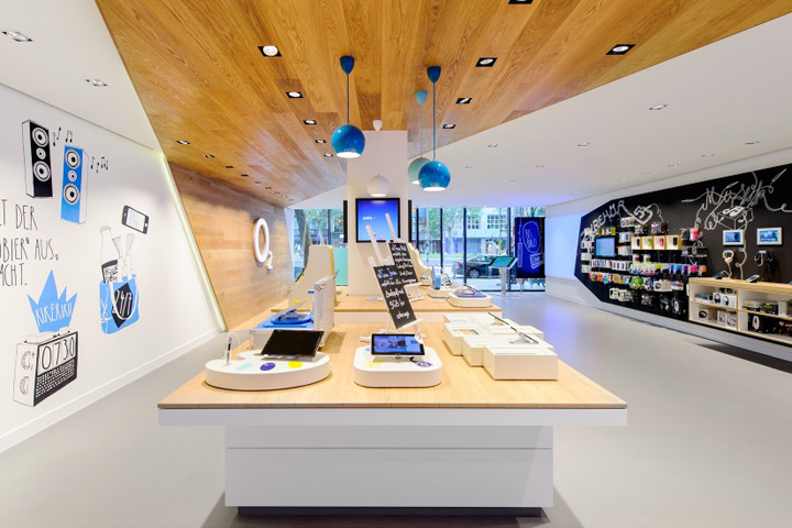 O2 live concept store by hartmannvonsiebenthal berlin for Onlineshop fur mobel