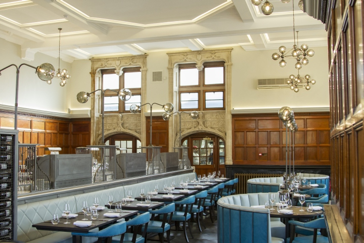 One kensington bar and restaurant by b designers london