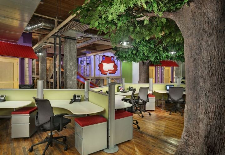 Red frog events office by nelson chicago illinois for Office design events
