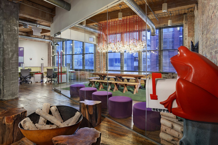 Red Frog Events Office By NELSON Chicago Illinois