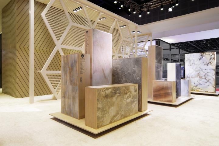 Exhibition Stand Design Uae : Royal ceramica stand by paolo cesaretti dubai uae