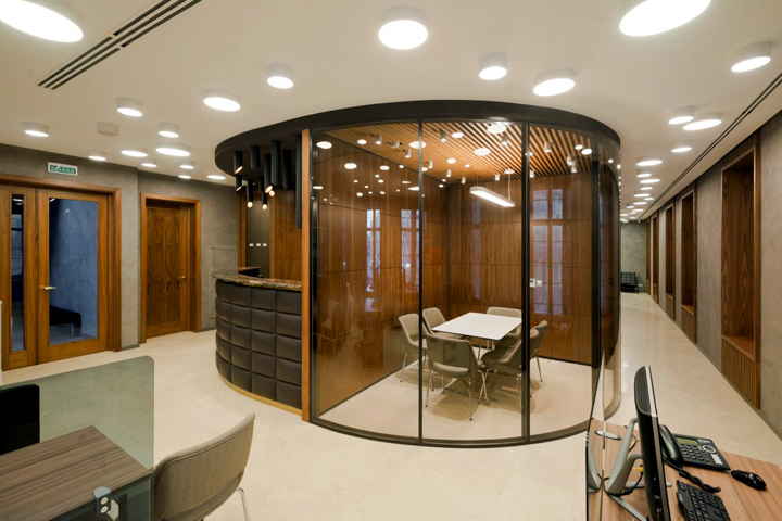 ideas for floor to ceiling partitions - bank Retail Design Blog