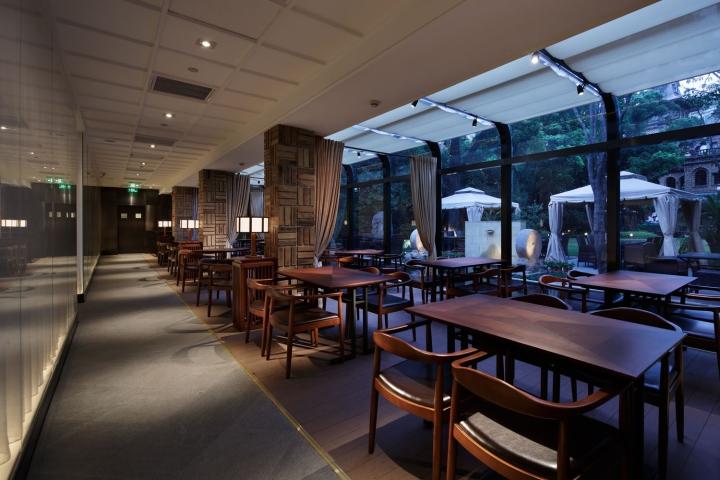 u00bb grill  u0026 sushi bar by gate interior design office  shanghai