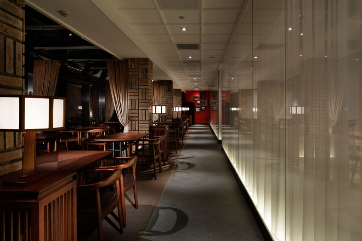 grill sushi bar  gate interior design office shanghai