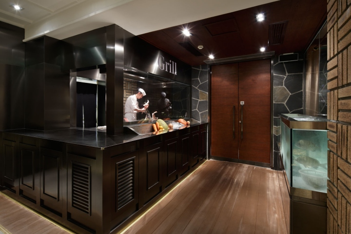 187 Grill Amp Sushi Bar By Gate Interior Design Office Shanghai
