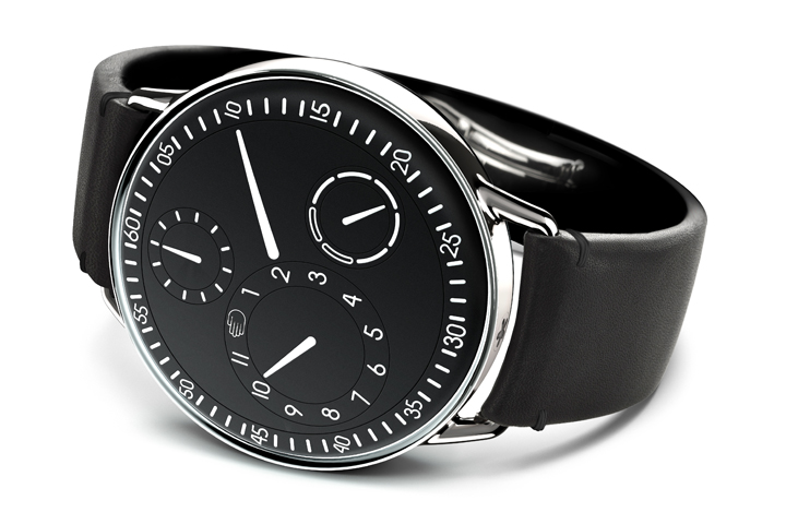 Type 1 watches by ressence retail design blog for Ressence watches