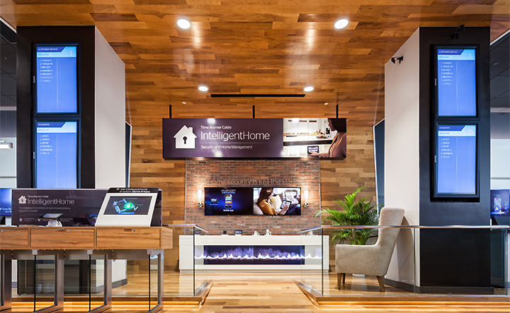 187 Time Warner Cable Flagship Store By Reality Interactive