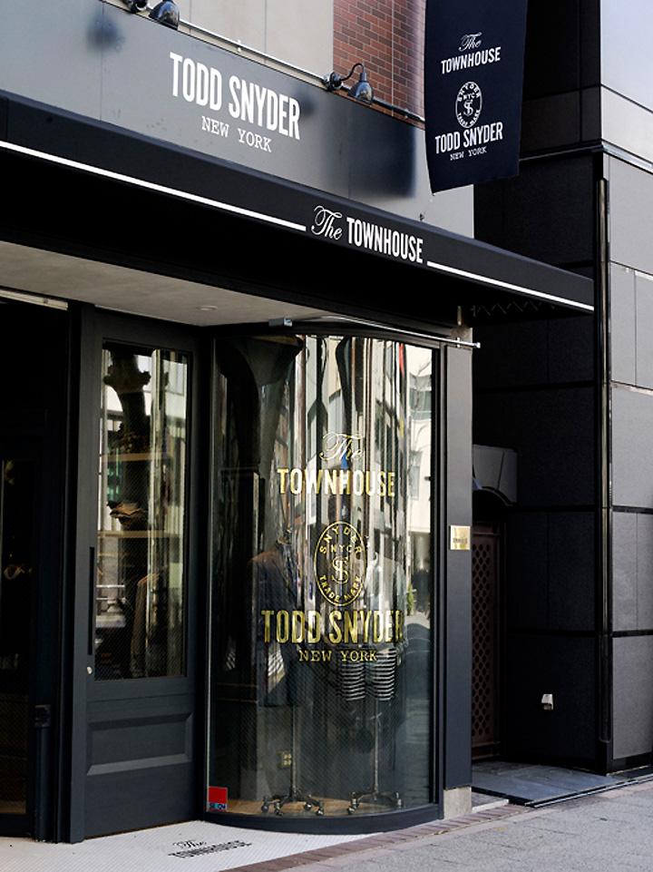 Todd Snyder Store Tokyo Japan 187 Retail Design Blog