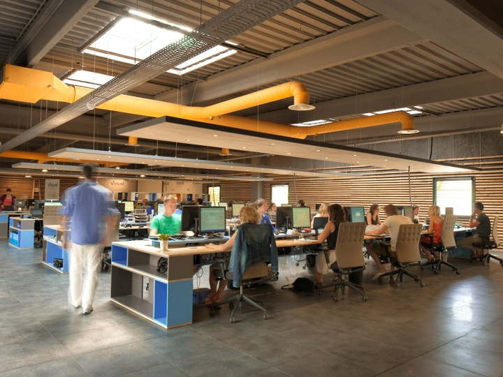 Retail Design Blog Virtualexpo Open Space Office By