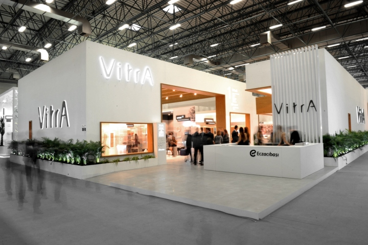 Exhibition Stand Design Italy : Vitra unicera fair stand by so architecture