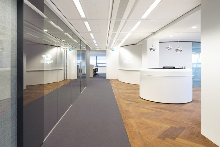 In Line With The Recent Design Of Vopak EMEA Fokkema Partners Designed Offices For NL Office Is Situated Westerlaantoren And Has