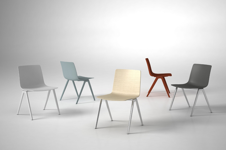 Awesome A Chair By Jehs+laub For Brunner