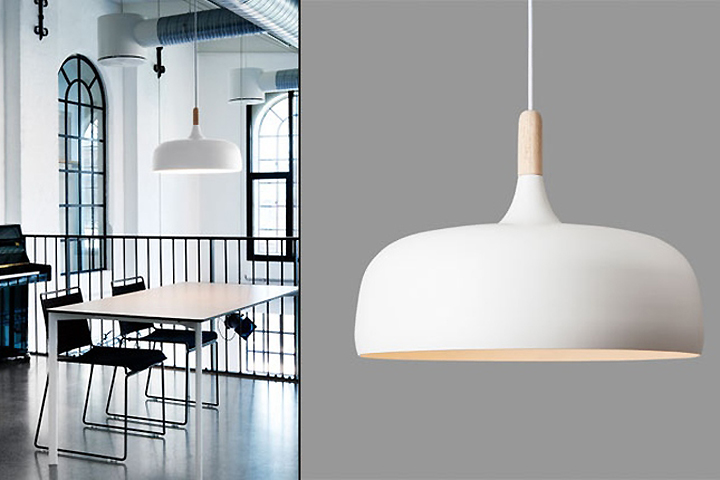 Pendant Lighting For Retail : Acorn pendant lamp by atle tveit for northern lighting
