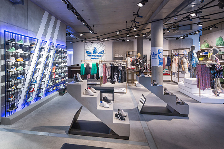 adidas originals flagship store berlin germany. Black Bedroom Furniture Sets. Home Design Ideas
