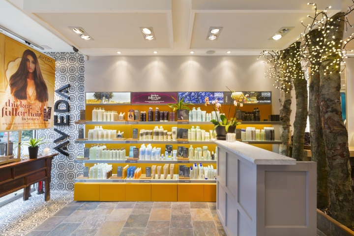 Ceiling Tiles Uk >> » Aveda Lifestyle salon & Spa by Reis Design, London – UK