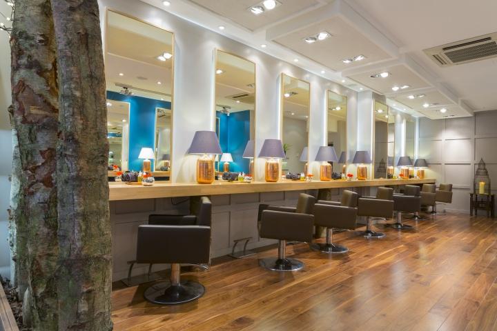 Aveda lifestyle salon spa by reis design london uk for Interior stylist london