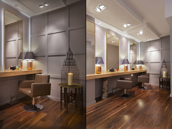 » Aveda Lifestyle salon & Spa by Reis Design, London – UK