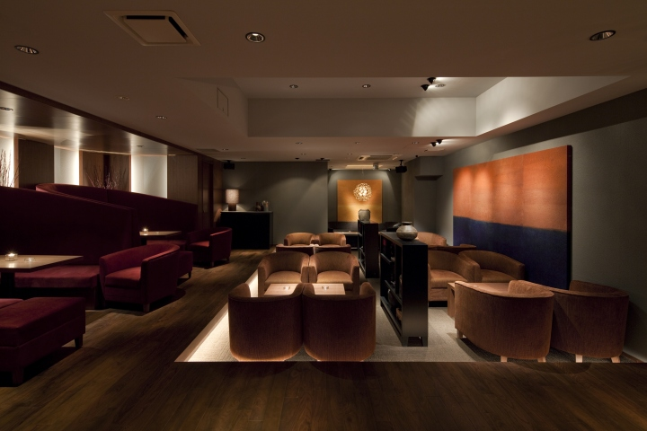Azabu Resited Ark Rooms Bar Lounge By Is Design Tokyo Japan