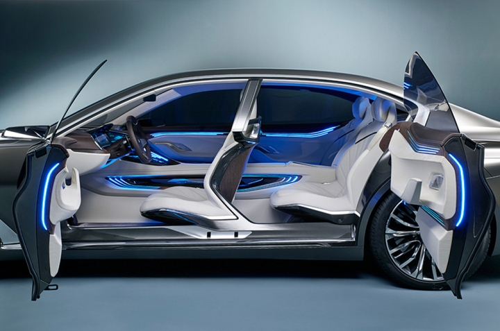 Bmw Concept Car Interior Www Pixshark Com Images