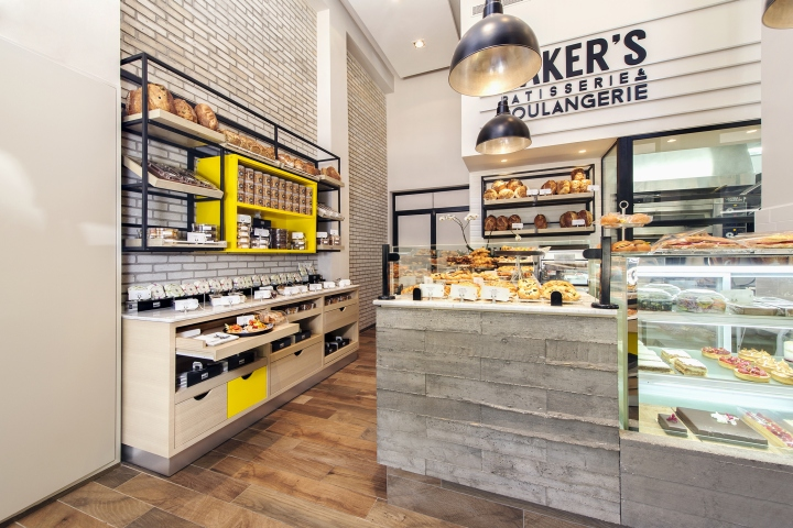 Bakers bakery by Studio 180 Tel Aviv Israel 02 Bakers bakery by Studio 180, Tel Aviv   Israel