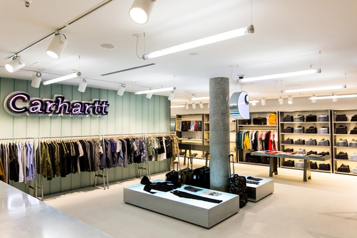 carhartt w i p store by andrea caputo berlin germany retail design blog. Black Bedroom Furniture Sets. Home Design Ideas