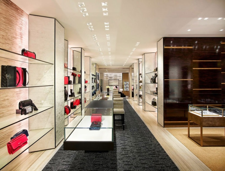 Chanel store by peter marino hamburg germany retail for Design outlet hamburg