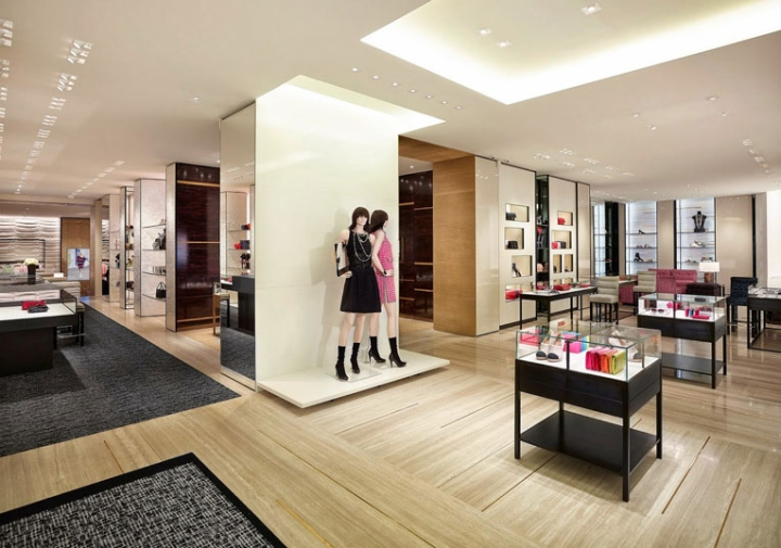 chanel store by peter marino hamburg germany retail. Black Bedroom Furniture Sets. Home Design Ideas