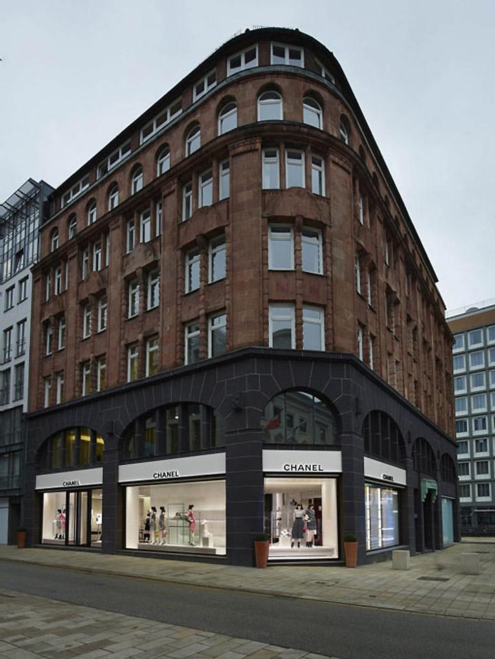 Chanel Store By Peter Marino Hamburg Germany 187 Retail