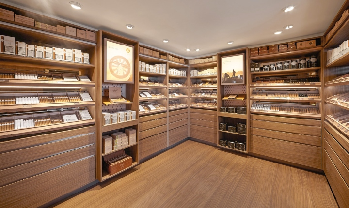 187 Davidoff Cigars Flagship Store By Arno Brussels Belgium