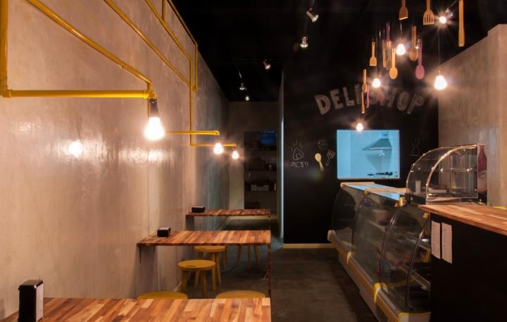 Deli Shop Restaurant By Studio Dlux S 227 O Paulo Brazil