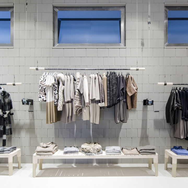 187 Fashion Store By Studio Isacco Brioschi Bergamo Italy