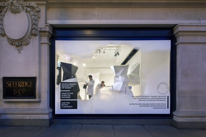 u00bb fragrance lab installation by campaign  the future