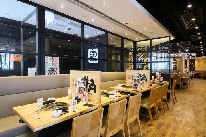 187 Gyu Kaku Japanese Yakinku Restaurant By Mas Studio Hong
