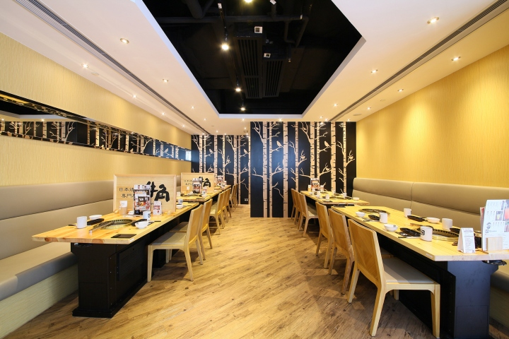 gyu kaku japanese yakinku restaurant by mas studio hong. Black Bedroom Furniture Sets. Home Design Ideas