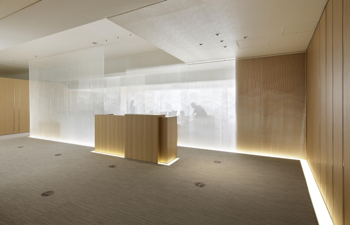 K and k company office by isaku design tokyo japan for Japanese office interior design