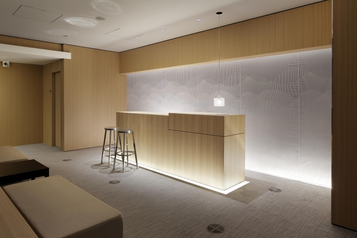 Retail design blog k and k company office by isaku for Office design japanese