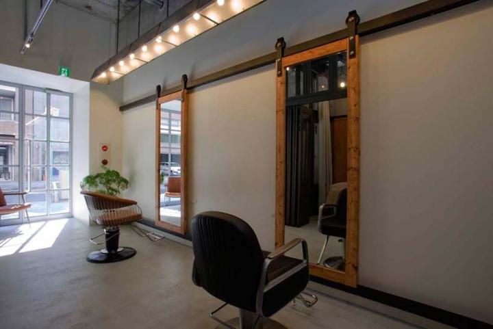 Used Salon Chairs >> » Ki se tsu hair salon & esthetic salon by iks design, Nagoya – Japan