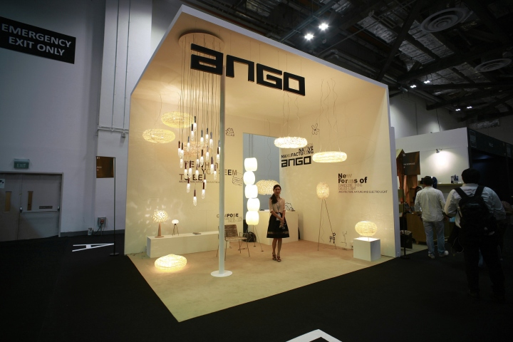 Exhibition Stand Lighting Qld : Light building frankfurt ango retail design