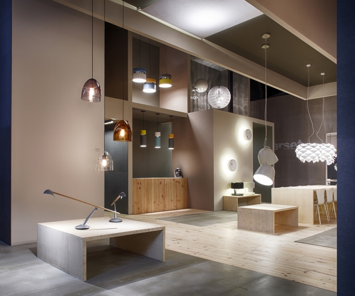 Exhibition Stand Construction Materials : Light building frankfurt b lux by david abad