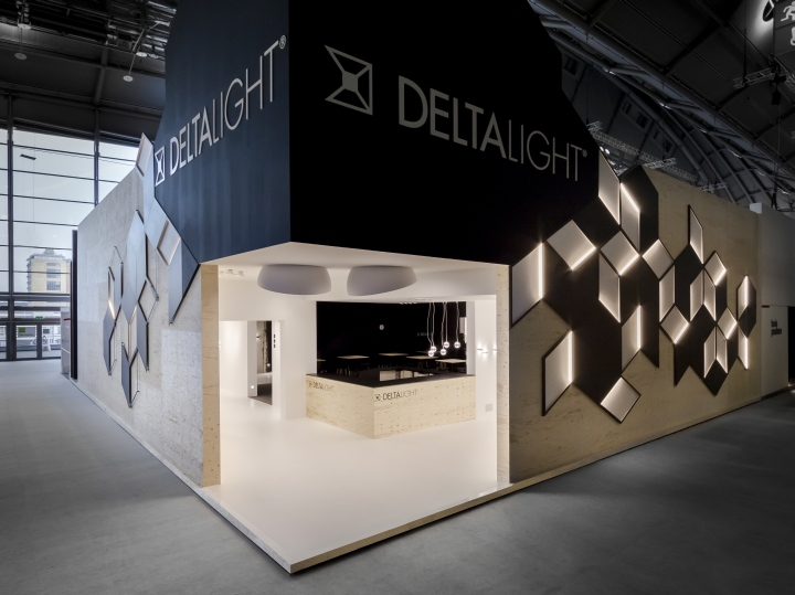 Exhibition Booth Lighting : Light building frankfurt delta retail