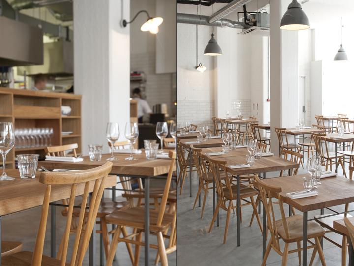 Lyles restaurant by B3 Designers London UK Retail Design Blog