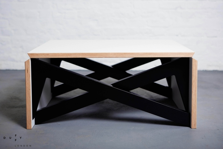 MK1 Transforming Coffee Table Wood Mini by Duffy London Retail
