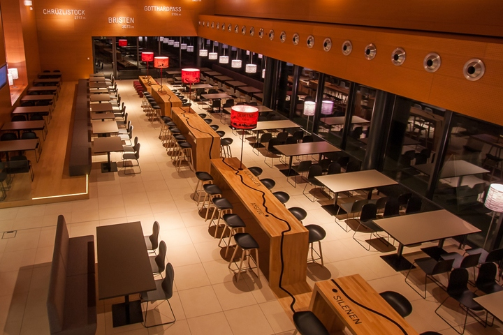 My stop motorway restaurant by barmade interior design